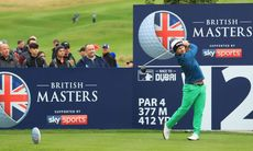 Lingmerth med jätterond under British Masters