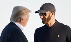 Trump gratulerade Dustin Johnson