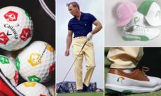 1dc0d2d5af4 Arnold Palmer hyllas av utrustningstillverkare och spelare