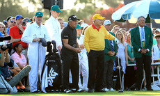 TV: Nicklaus och Player invigde Masters