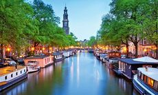 Upptäck Amsterdam, Köpenhamn, London och Montpellier