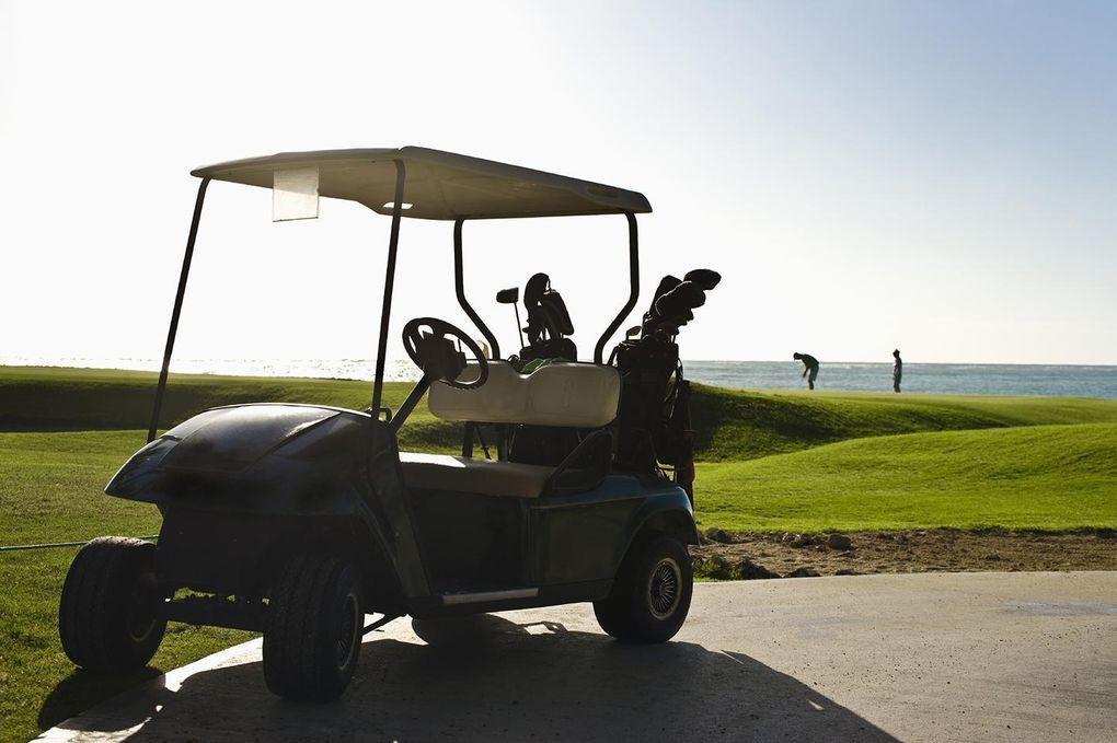 Golfare rånade – mitt under rundan