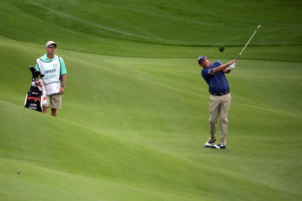Dufner skjuter sönder PGA West