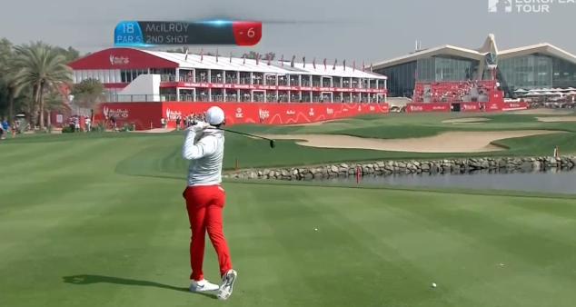 TV: Se Rorys spoon snudda vid albatross