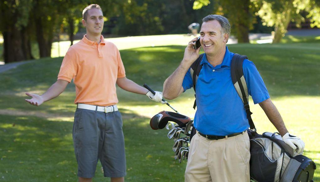 14 oartiga saker som sker på golfbanan