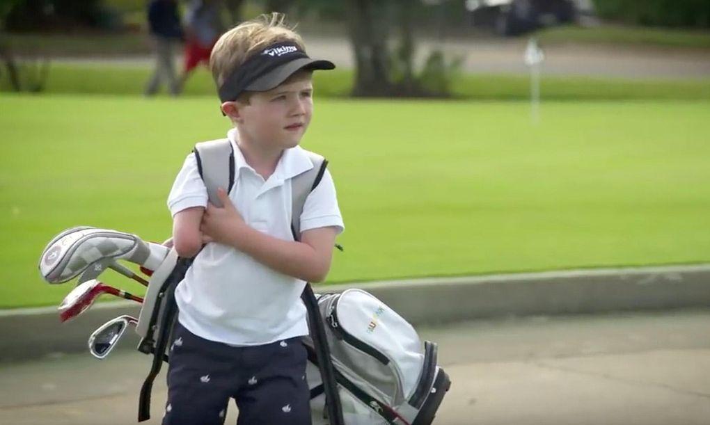 Enarmade Tommy stal showen vid PGA:s demodagar