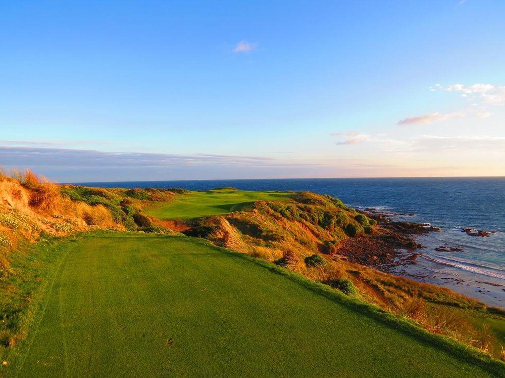 Tasmaniens hetaste golfbanor