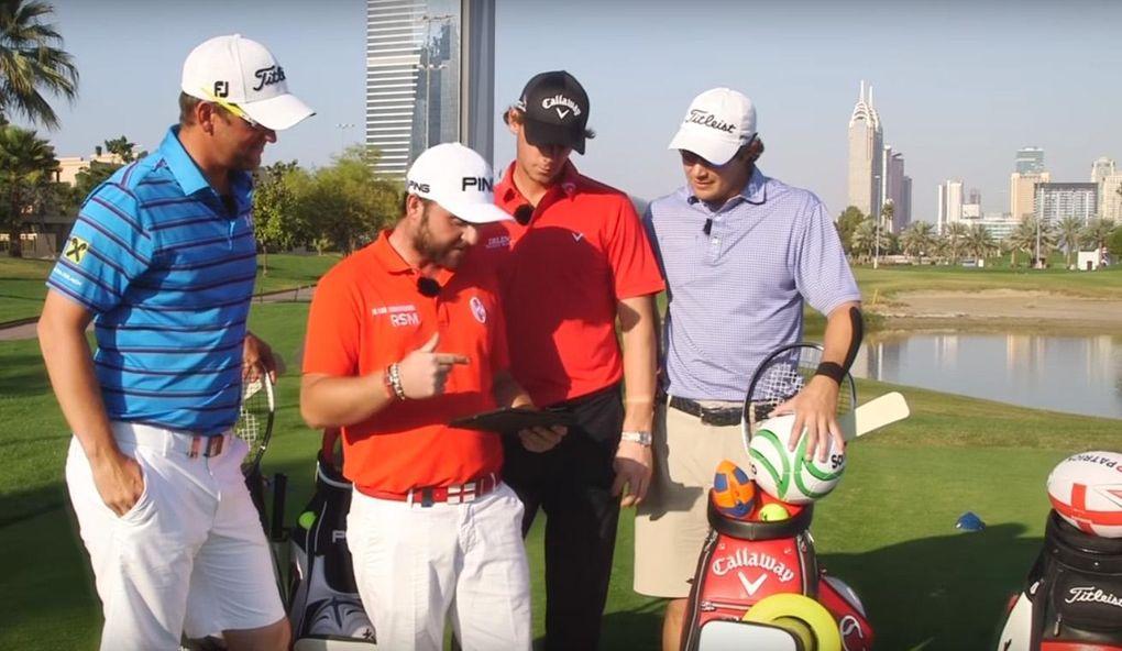 TV: Sju olika sporter - på ett golfhål