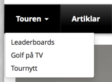 golf, tour, nyheter