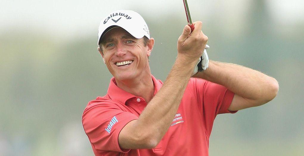 TV: Kolla in vad golfproffset gör på hotellrummet