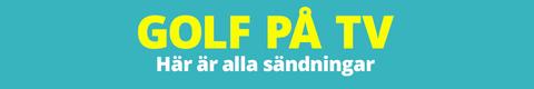 GOLF PÅ TV: Här är veckans livesändningar