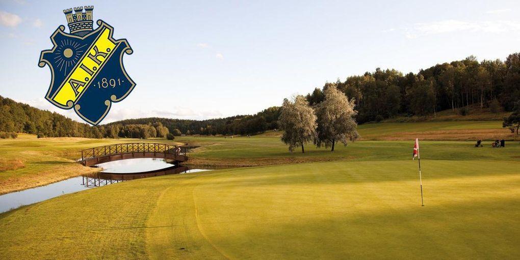 Här är AIK:s nya golflag