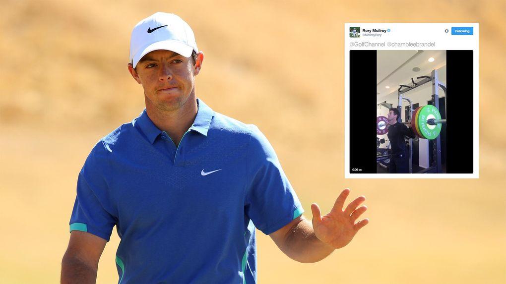 Efter kritiken: Rory är med i topp
