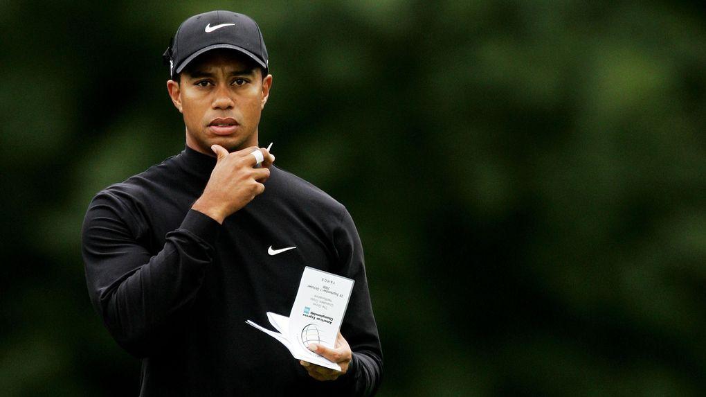 Tiger Woods liv blir en bok