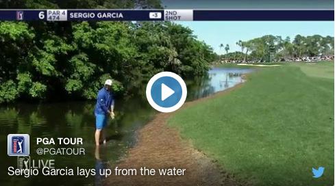 TV: Se Garcia gå på vattnet