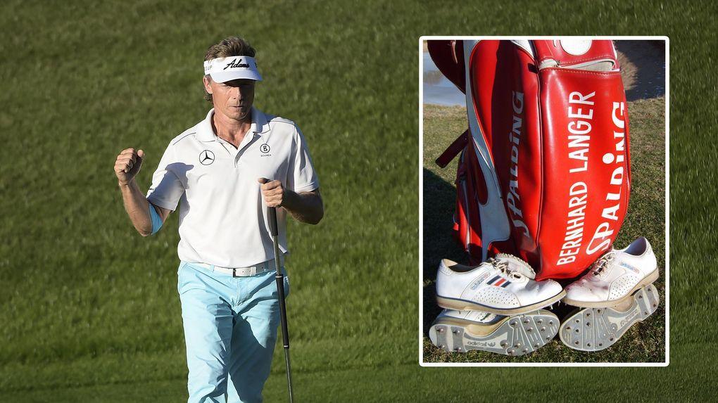 Bernhard Langers golfbag till salu – för 466 000 kronor