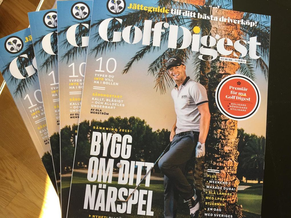 Nu släpps nya Golf Digest