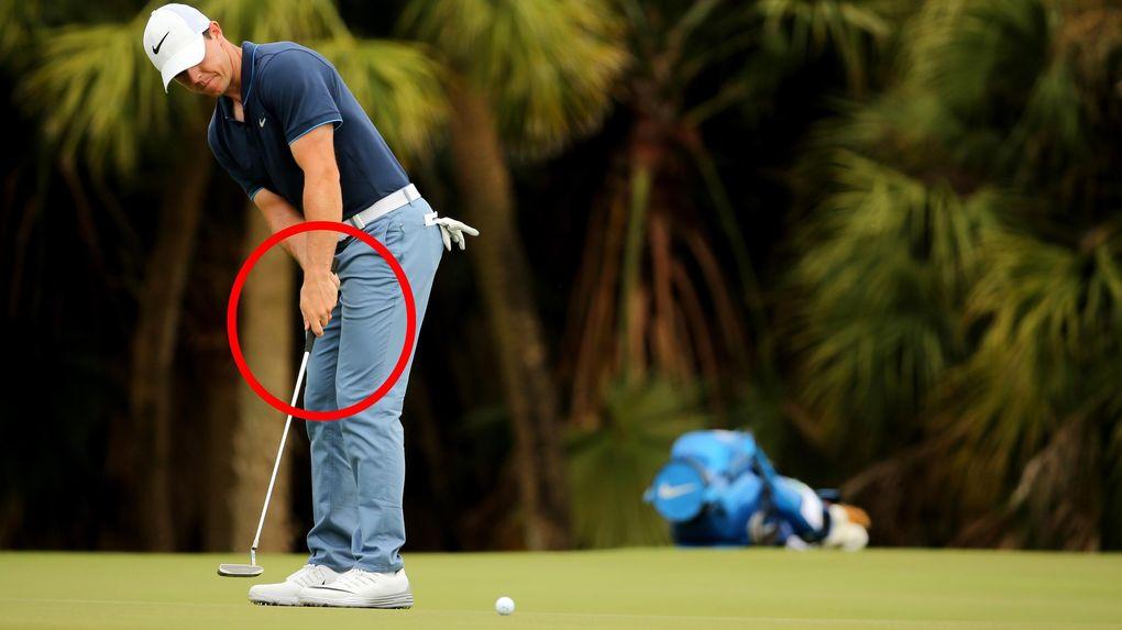 Nya tekniken gav Rory McIlroy sämre längdkänsla