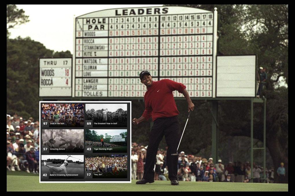 Här är golfens sju största ögonblick