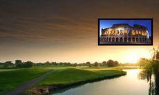 Citypuls och golf i Rom