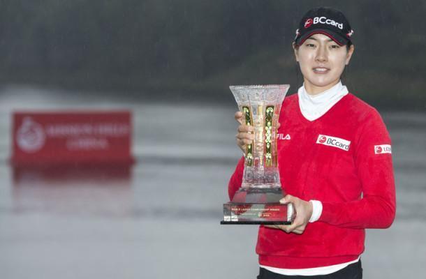 Lee Jung-Min vann helgens båda tävlingar