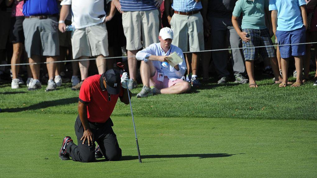 Tiger Woods misslyckade bana till salu