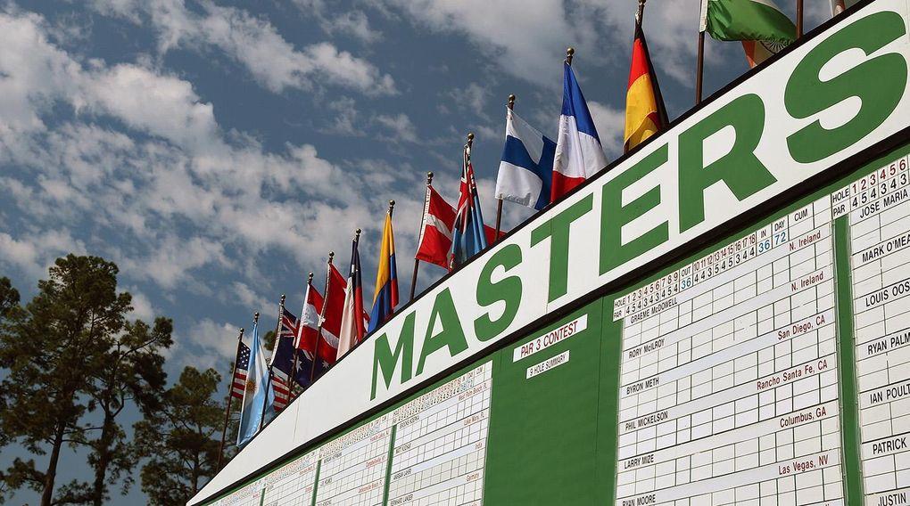 Så sänds Masters i TV