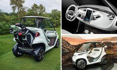 Är det här den lyxigaste golfbilen någonsin?