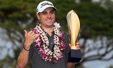 Justin Thomas rekordvinnare på Hawaii