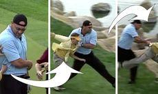 TV: Därför ska du inte störa en golfspelare!