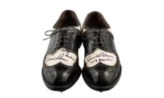 Arnold Palmers skor från The Masters 1958 till salu