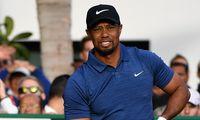 Tiger Woods för skadad för att dela ut pris