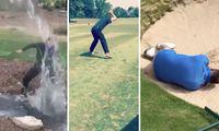 TV: Se samlingen av misslyckade golfslag