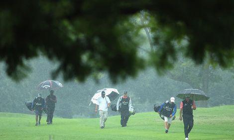 Söderberg storspelade i regnet