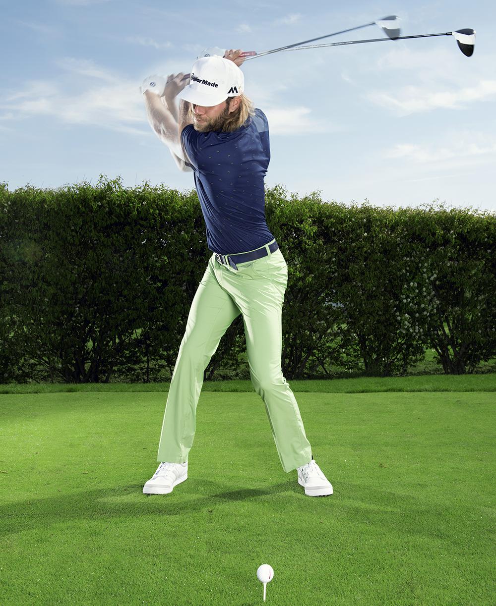 hur långt slår man med golfklubbor